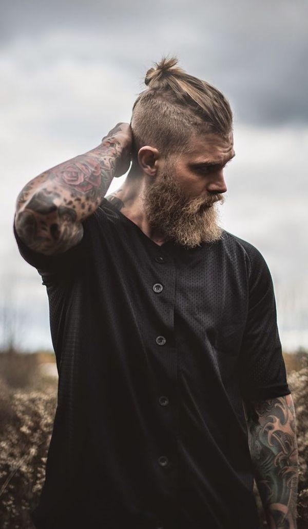 40 Beard Style For Round Face Men Short Hair With Beard Beard