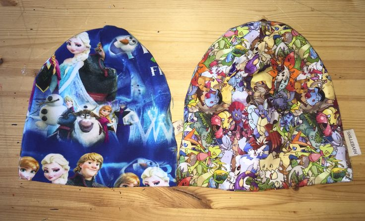 FROST and POKEMON hat's. MADE BY ME!