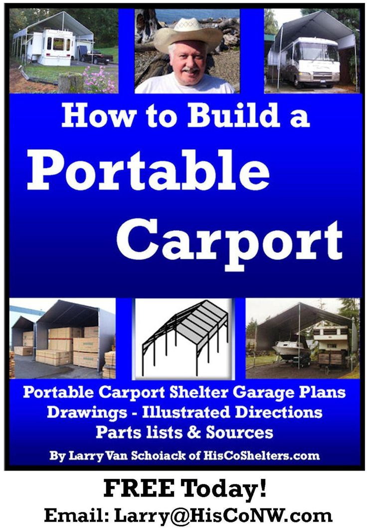 79 Best Diy Build Your Own Rv Or Boat Portable Carport