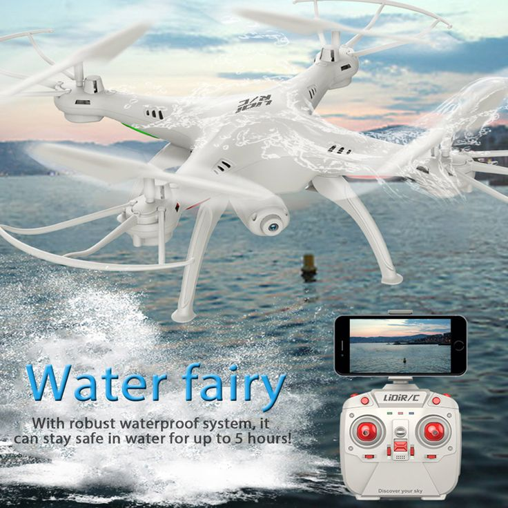 L15FW Drone With Camera HD WiFi FPV 2.4GHz 4CH 6 Axis Gyro Waterproof Quadcopter Headless Mode RC Helicopter VS MJX X101 //Price: $75.23      #shopping