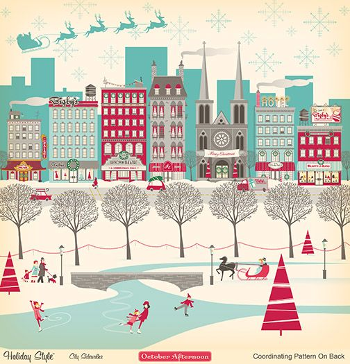 if @partyforacause were a #Christmas scene #red #aqua