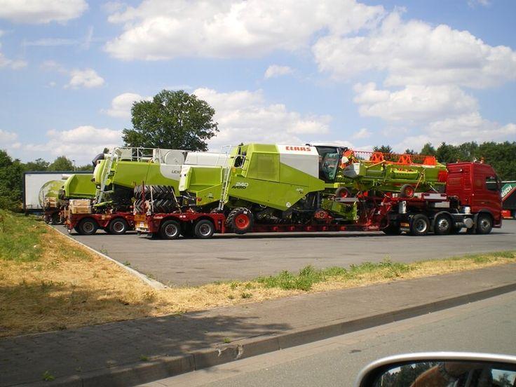 Sondertransport Landmaschinen - zügig und reibungslos von A nach B mit www.pfafflogistik.de