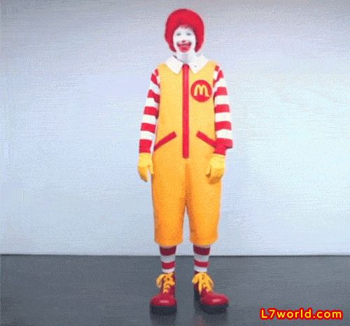 """Ronald McDonald costume gets modern makeover, again:  Ronald McDonald has finally updated his wardrobe with a slightly less out-of-style outfit. He's traded in his baggy jumpsuit for cargo pants and vest with a red blazer for """"special occasions"""" explains the press release. A promotional video shows Ronald spinning into his new clothes like a Wonder Woman transformation.  #ronaldmcdonald #mcdonalds #wonderwoman  http://l7world.com/2014/04/ronald-mcdonald-costume-gets-modern-makeover.html"""