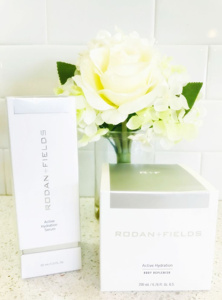 Keep Skin Hydrated with Rodan + Fields Active Hydration Serum & Body Replenish! #RFGIFTS