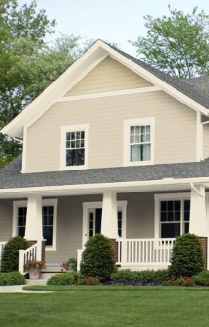 17 best images about house exterior on pinterest - Exterior paint coverage on stucco ...