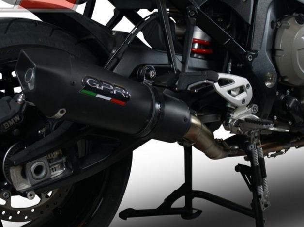 Gpr Bmw S1000xr 15 17 Full Exhaust System Gpe Anniversary Black Titanium Bmw Yamaha Ktm Twowheelshero Triumph Honda Suzuk In 2020 Bmw Black Titanium System
