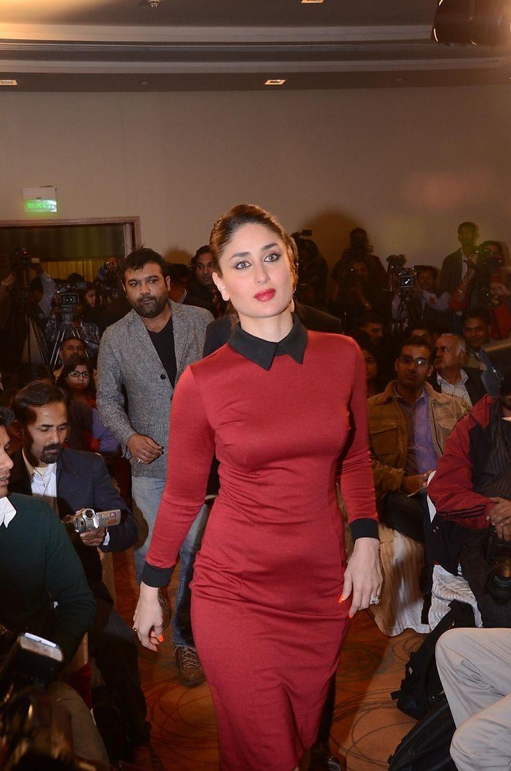 Fantastic HD Photos of Kareena Kapoor Khan in Red Dress at 58th Idea Filmfare Awards - HD Photos