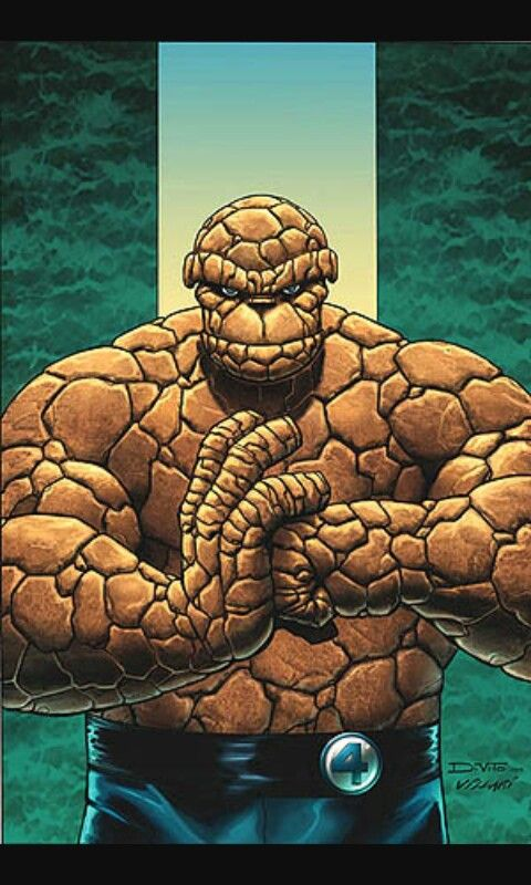 what is the rock guys name on fantastic four