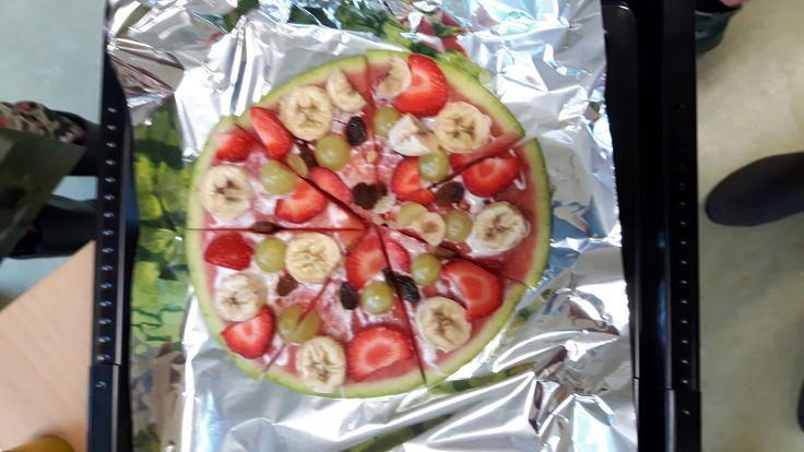 Gezonde pizza/taart