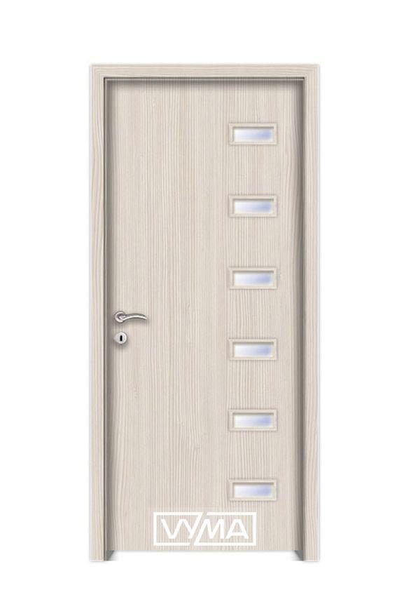 Vyma, CPL fóliás beltéri ajtó. Rendkívül jó kopásálló és karcálló felületettel rendelkezik. Bő színválaszték.