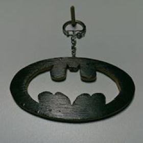 """Kézzel készített """"Batman"""" kulcstartó"""