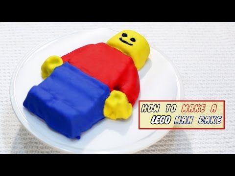 Easy Lego Man Cake Tutorial                              …