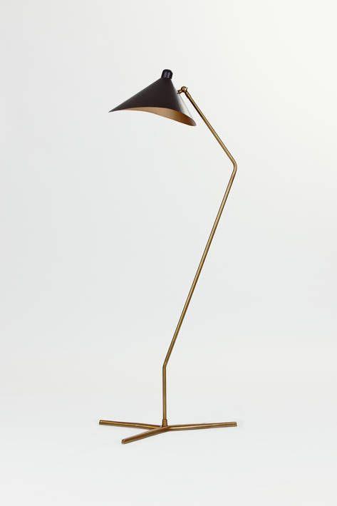 Flair — Dino Floor Lamp Black — THE LINE
