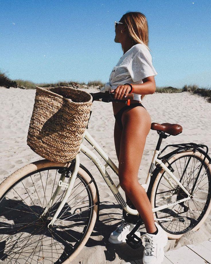 #ausflugzumstrand #fahrrad #meeresbrise #sommerbräune
