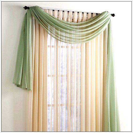 1000 ideas about scarf valance on valances