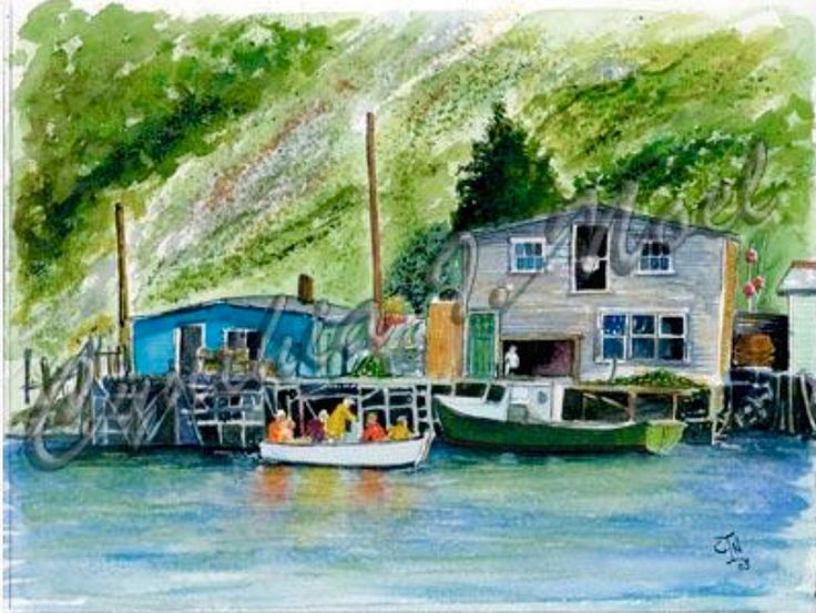 Jiggin' Time-Quidi Vidi Village,  St. John's, NL (SOLD)