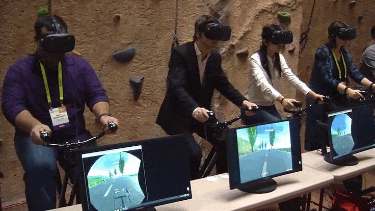 VR Games Are the One Way to Make Exercise Even Less Appealing