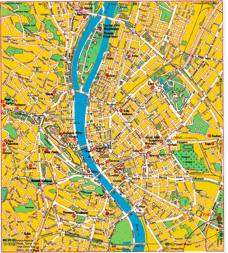 Hungary Map Tourist Attractions - http://travelquaz.com/hungary-map-tourist-attractions.html