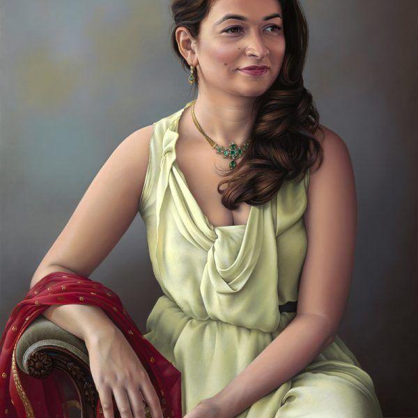 Miriam Escofet  – Shuba – oil on panel 70x50cm