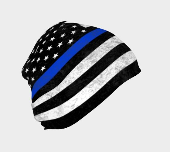 Click photo to buy this Thin Blue Line Beanie on ArtofWhere!  Available for Adults, Youths, and Babies!  Police Lives Matter. Blue Lives Matter. The Thin Blue Line. Apparel. Stars and Stripes. American Flag. Support Blue. Police Wife. Police. Law Enforcement. LEO. LEOW. Law Enforcement Wife. Gifts for Him. Gifts for Her.