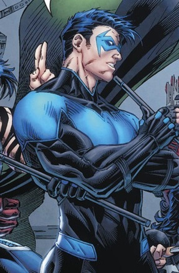 Nightwing. Dick Grayson DC comics
