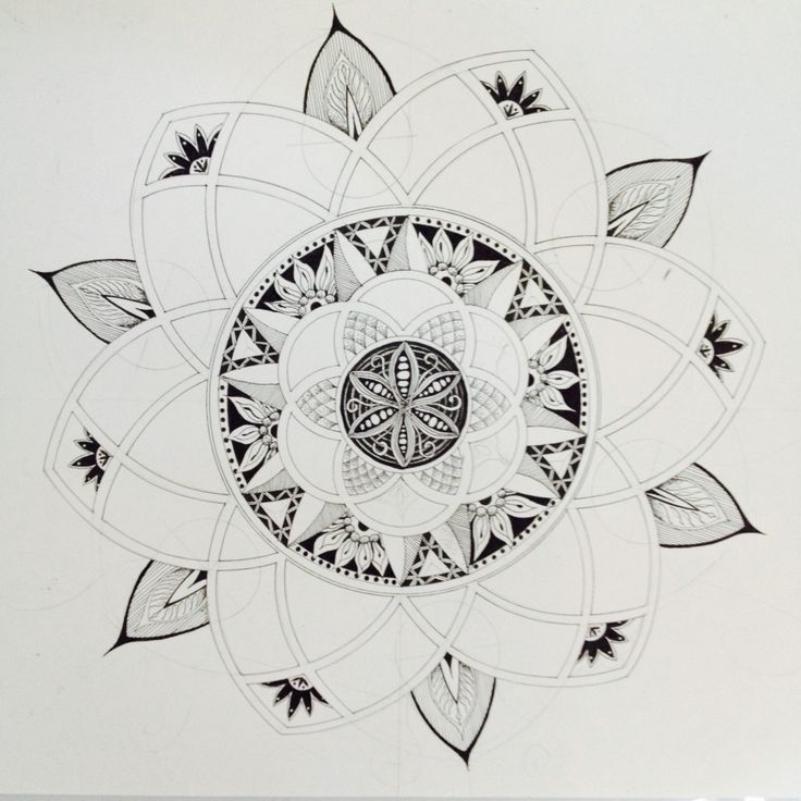 progression on zendala mandala