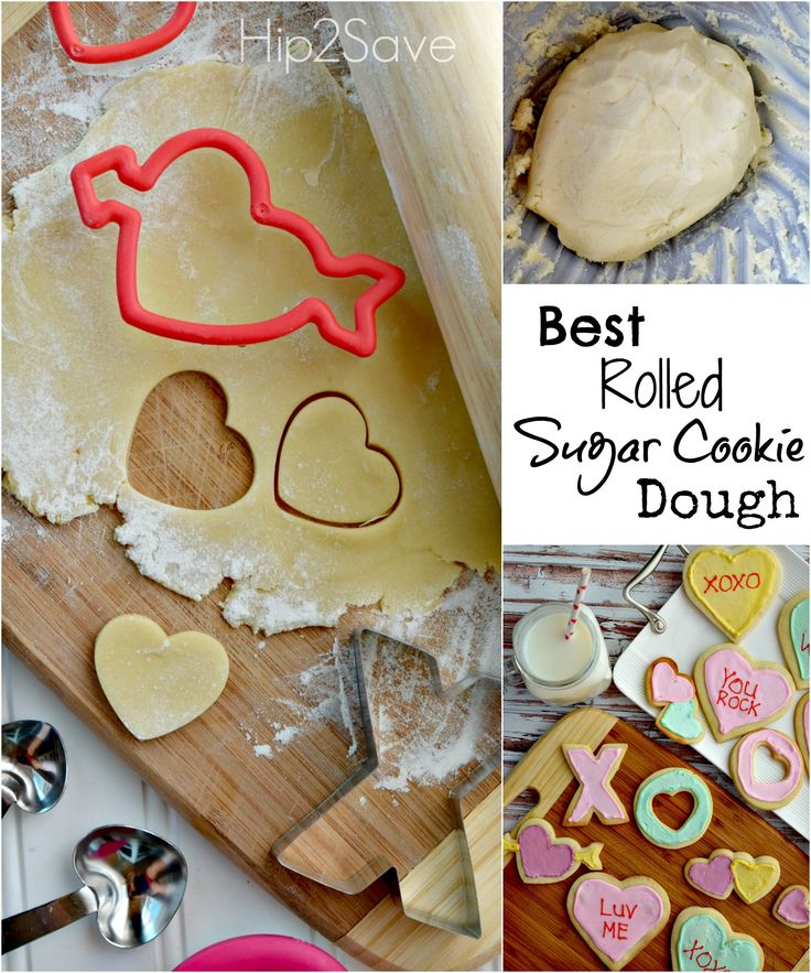 Best Rolled Sugar Cookie Dough Recipe via Hip2Save: It's Not Your Grandma's Coupon Site!