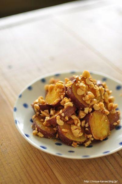 ≪レシピ≫ほくほく!甘じょっぱい◎サツマイモのピーナッツ味噌和え ...