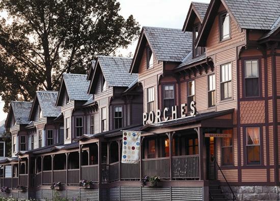 Porches Inn -- North Adams, MA -- Berkshire Mountains