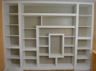 tutorial pour fabriquer une biblioth que en placo et bois biblioth que en 2019 armoire. Black Bedroom Furniture Sets. Home Design Ideas