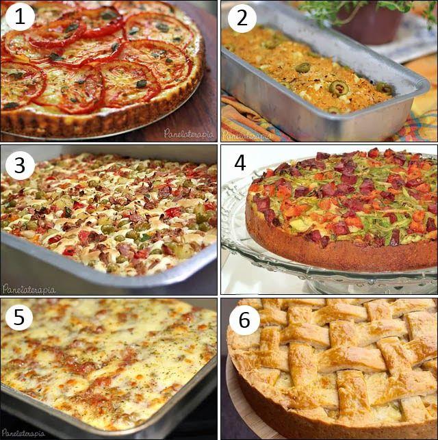PANELATERAPIA - Blog de Culinária, Gastronomia e Receitas: Tortas Rápidas para o Final de Semana