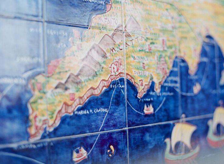 Amalfi Coast Honeymoon Snippet & Ink