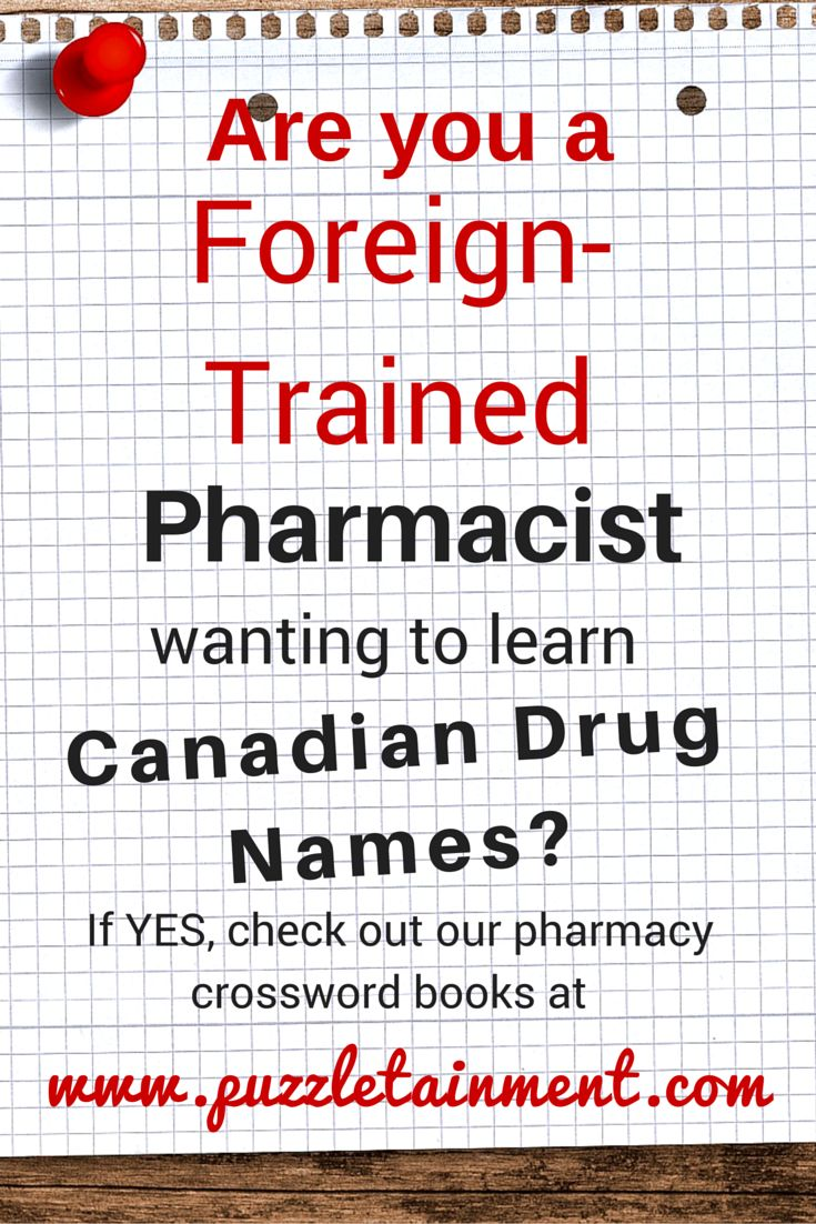 how to become a registered pharmacist in canada