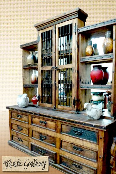 Large Dining Room Hutch Rustic Wood Therusticgallery