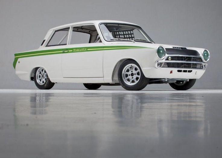 never tracked freshly built 1966 lotus cortina mki racer