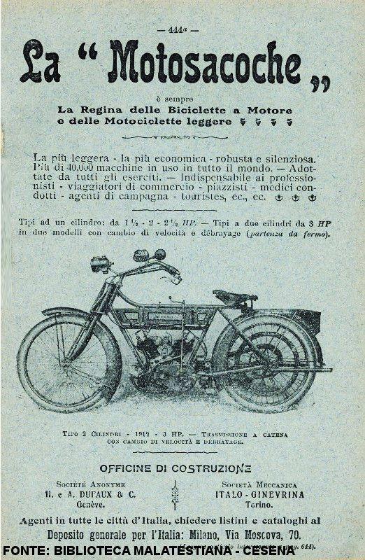 Motosacoche, 1912 #motorcycle