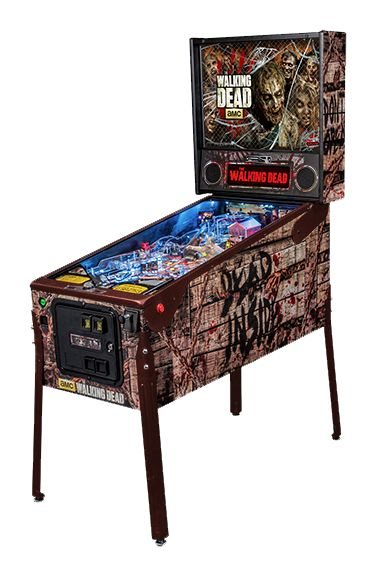 The Walking Dead pinball machine made by Stern