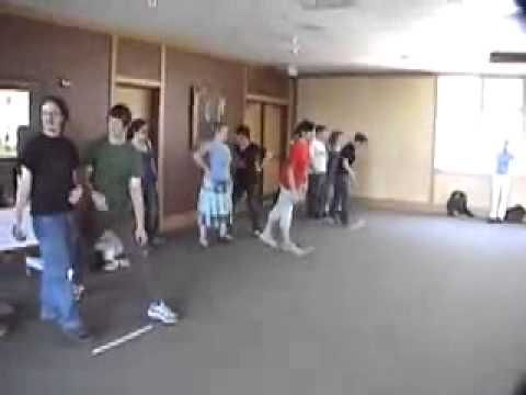 Group Stride -- Duct Tape Teambuilding Game