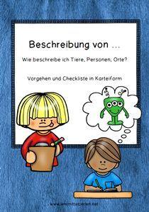 Deutsch: Wie gehe ich vor bei der Beschreibung von Personen, Tieren und Dingen?