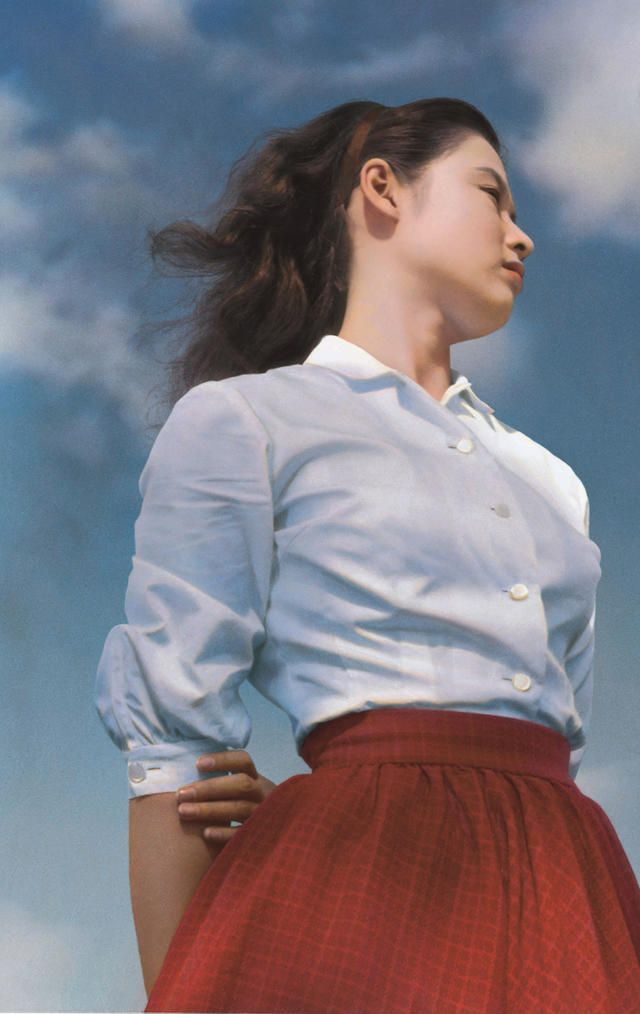 Ayako Wakao 若尾文子 / 青空娘 1957年