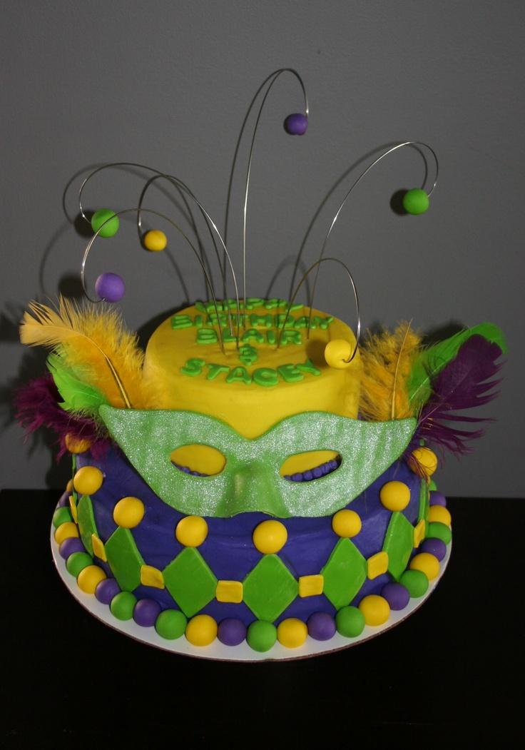 mardi gras sugar entertaining forward mardi gras cake by sugar ...