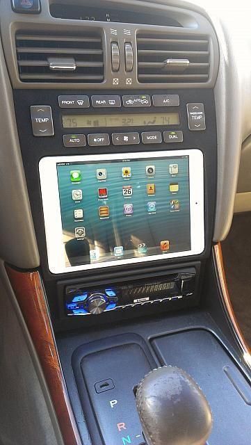 1998 Lexus GS300 - Ipad Installed