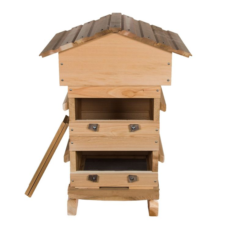 Handcrafted Warre hive built from Cedar or Sugar Pine in Portland, Oregon. Free U.S. . Windows available, along with a full line of beekeeping supplies.