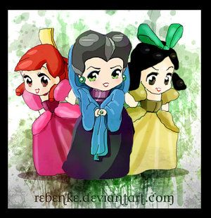 Chibi Cinderella | chibis_stepmother_and_stepsisters_by_rebenke-d6by2sg.jpg