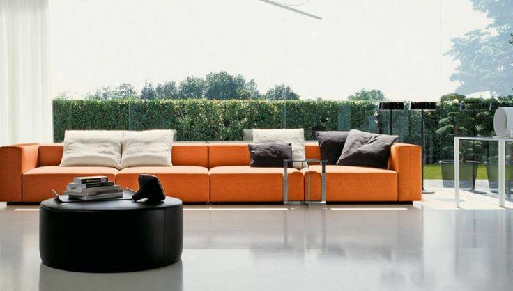 le grand canapé est en vogue quelles sont les tendances grand canapé ...