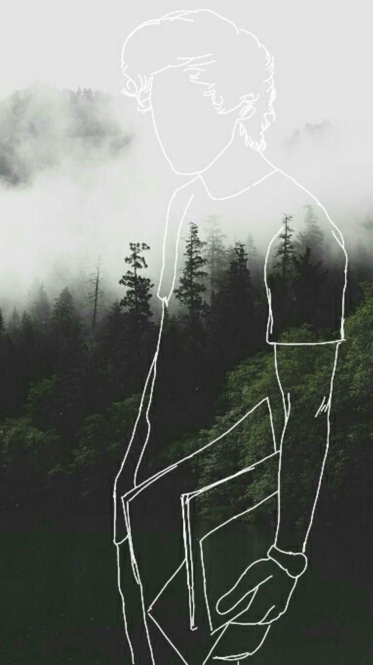 Harry styles art by me lol