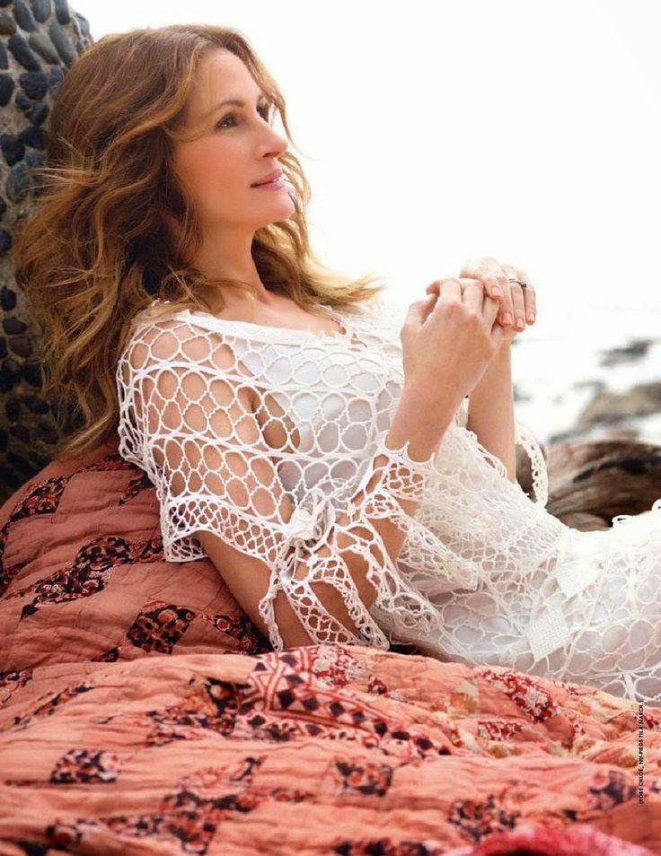 Julia Roberts - Elle Magazine, France, August 2014_04_1