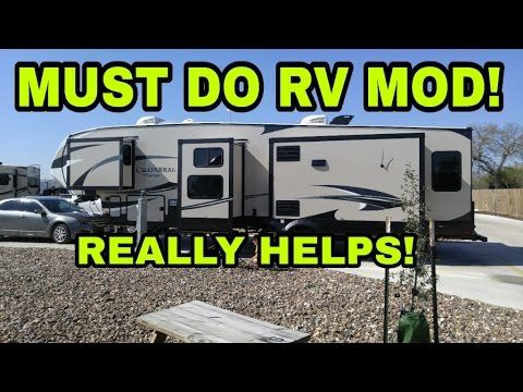 Must-do RV Mod!!! Watch this!