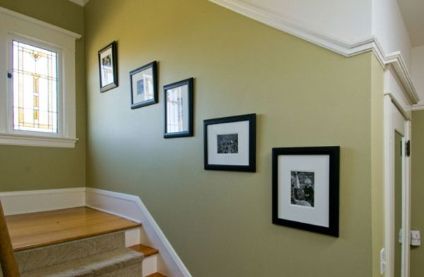 Best Painting Ideas For Wall Beside The Stairs Interior 400 x 300