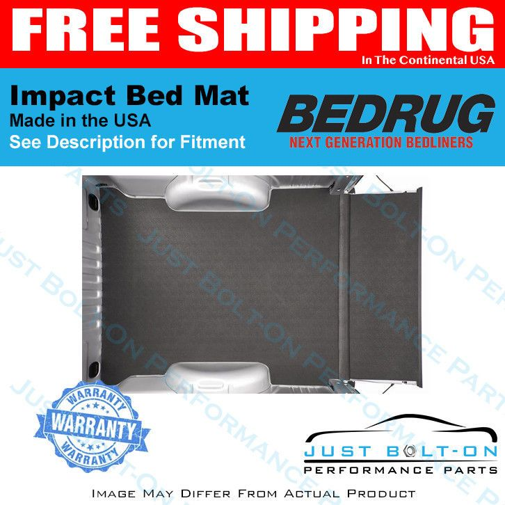Bedrug Impact Bedmat Spray In No Bed Liner Fits 2007 2018 Tundra 6
